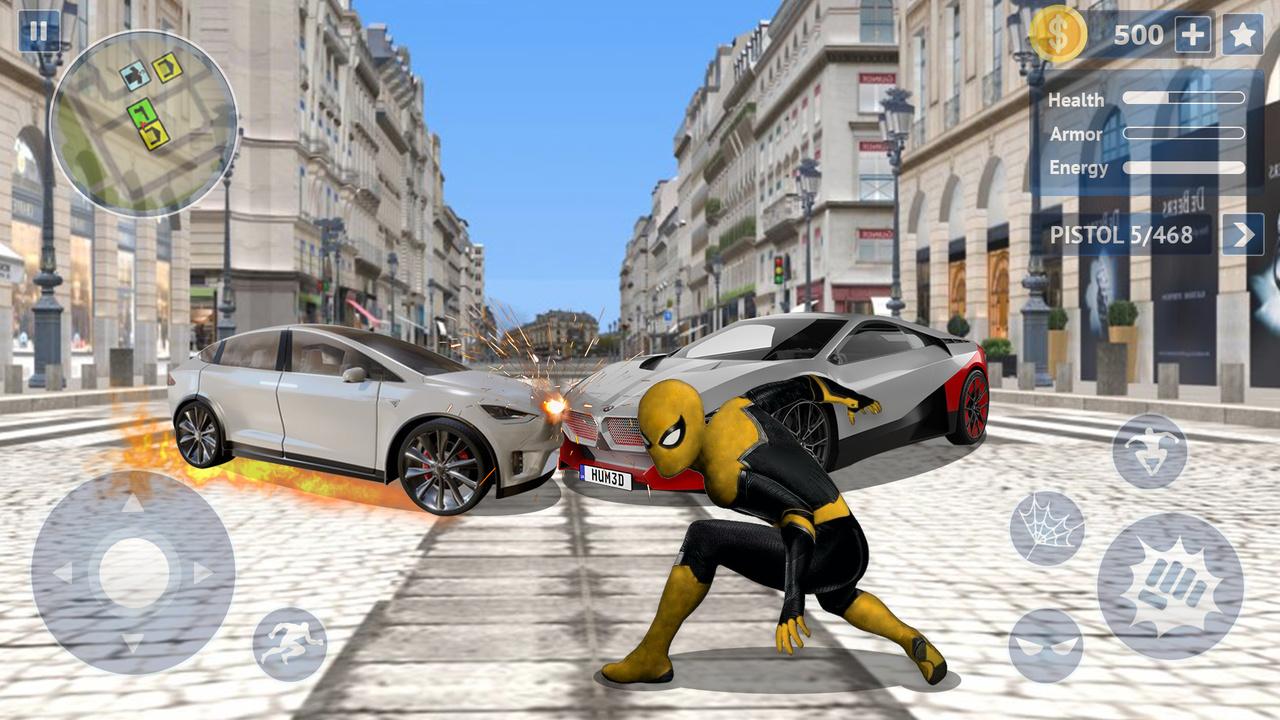 蜘蛛英雄:正义之城游戏截图